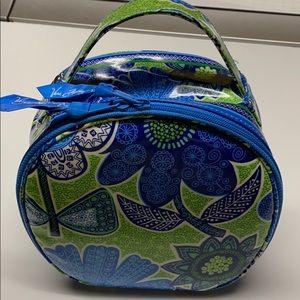 NEW Vera Bradley hip Travel toiletry jewelry bag
